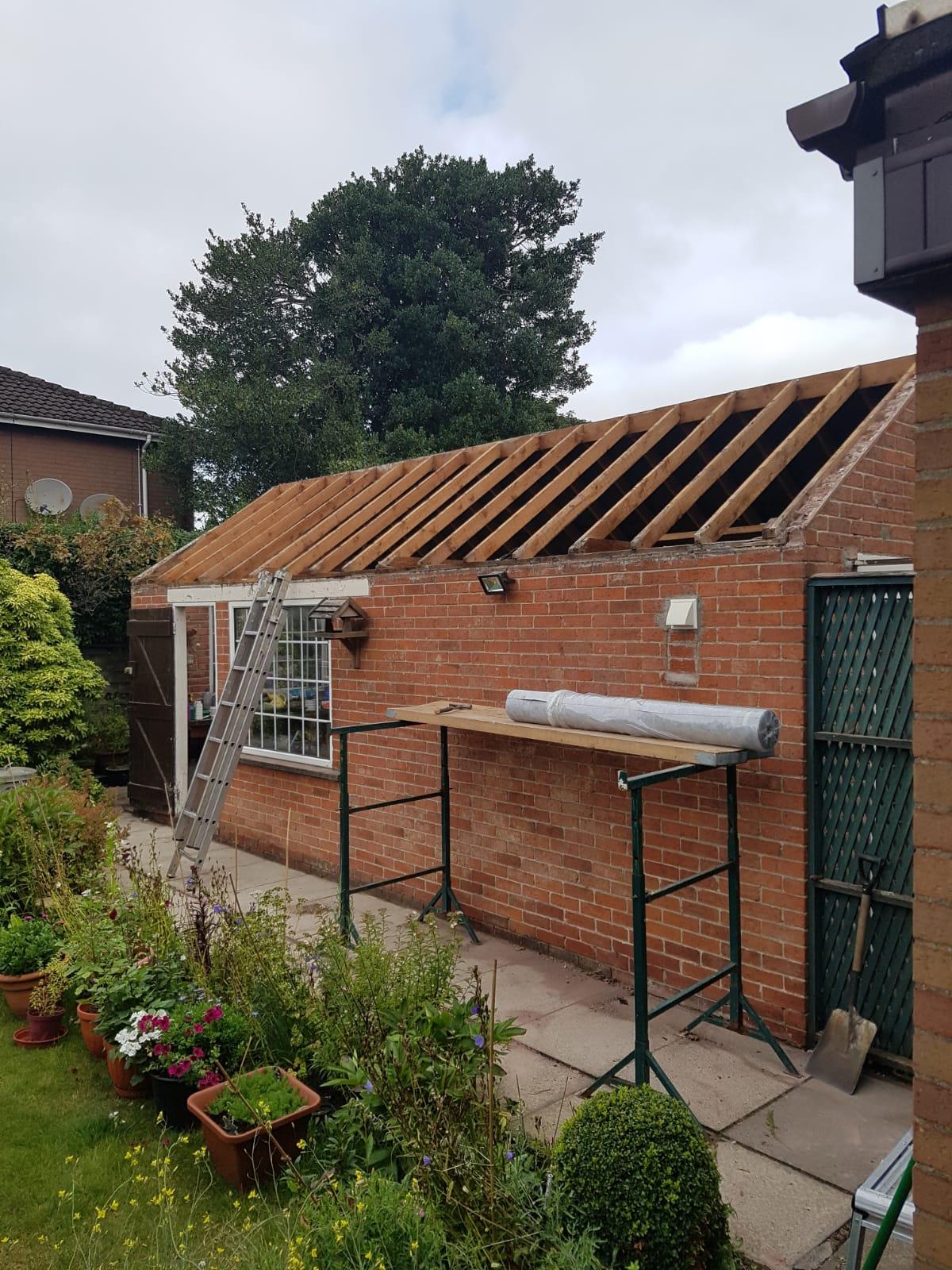 New Garage Roof Belfast BT5 BT6 BT9
